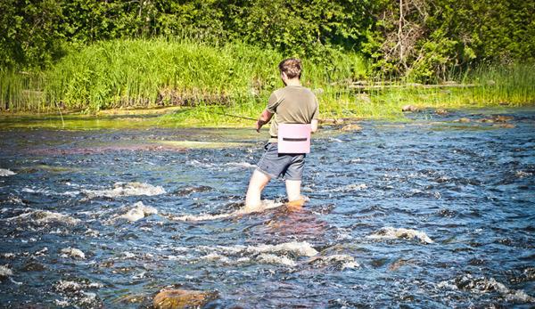 рыбалка на реке вага